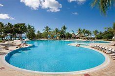 The pool at Dreams La Romana  http://worldtravelspecialists.biz/aeriole