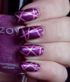 ♥!! #zoya #rory #nails