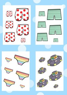 Twinkl Resources >> Aliens Love Underpants Size Ordering >> Printable resources for Primary, EYFS, KS1 and SEN.  Thousands of classroom displays and teaching aids! Story Books, Topics, Aliens Love Underpants, Size Ordering, Activities