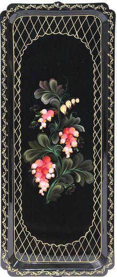 Роспись тагильских мастеров - Тагильская роспись Википедия