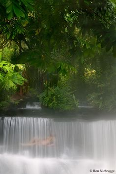 this is a real live place on planet earth, not heaven. Tabacon Hot Springs Resort, Costa Rica This is me in 3 months!!