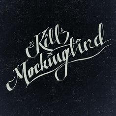To Kill A Mockingbird. By Eva M Winters (https://www.behance.net/EvaWinters)