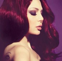 lve the hair color - makeup is pretty also :)    haifa wehbe http://www.makeupbee.com/look.php?look_id=82713