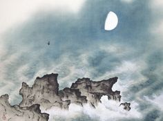 YOKOYAMA Taikan(横山 大観 Japanese, 1868-1958) Summer - Four Seasons Of The Sea 海潮四題・夏 1940