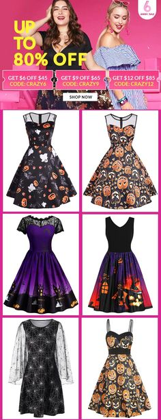 Dresses For Women Halloween Dress, Halloween Party, Casual Dresses For Women, Nice Dresses, Look Fashion, Fashion Outfits, Fall Outfits, Cute Outfits, Flared Skirt