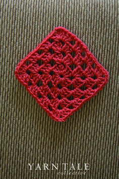 FREE Pattern & Tutorial for Basic Granny Square - Yarn Tale Collective