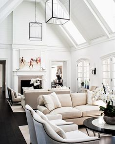 15 Interior Design Ideas to Spruce Up Your Large Living Room www. 15 Interior Design Ideas to Spruce Up Your Large Living Room www. Home Design, Room Interior Design, Living Room Interior, Home Living Room, Living Room Designs, Living Room Furniture, Living Room Decor, Living Spaces, Design Ideas