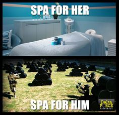 And the obvious choice? #paintball