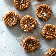 Day 4: Peanut Butter-Oat Bites with Sea Salt and Cinnamon | Food & Wine