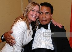 Actress Bo Derek (L) and Muhammad Ali pose during Muhammad Ali's Celebrity Fight Night XV held at the JW Marriott Desert Ridge Resort & Spa on March 28, 2009 in Phoenix, Arizona.