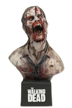 Busto The Walking Dead. Deer Eating Zombie, 17 cms. Edición Exclusiva. NECA
