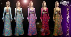Camelina dress at Jomsims Creations Sims 4 Clothing, Female Clothing, Sims 4 Update, Sims 4 Custom Content, Sims Cc, Art Girl, Character Inspiration, Cute Girls, Kimono Top