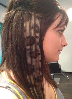 Cheetah Print- Done by the Lovely Sara- Roxanne's Hair Studio.  www.roxanneshairstudio.com