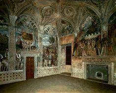 Andrea Mantegna stanza degli sposi, affreschi