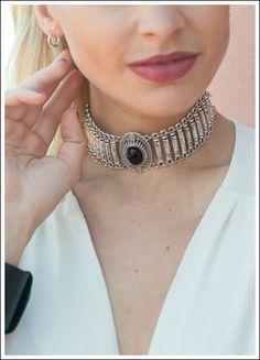 GARGANTILLA WILD - Comprar en Love Lola Tribal Jewelry, Indian Jewelry, Boho Jewelry, Jewelry Crafts, Jewelery, Silver Jewelry, Jewelry Accessories, Antique Jewellery Designs, Antique Jewelry