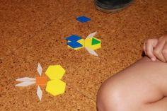 Bloke geometrikoekin egiteko 3 proposamen (I) Pattern Blocks, Triangle
