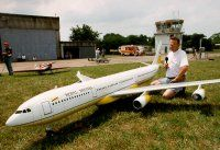 Giant RC Airliner
