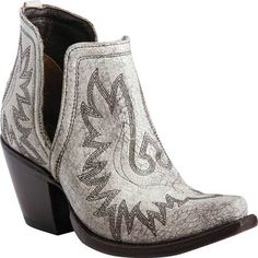 Women s Ariat Dixon Ankle Bootie - Blanco Full Grain Leather Boots Ariat Boots  Womens 17b3004ad1