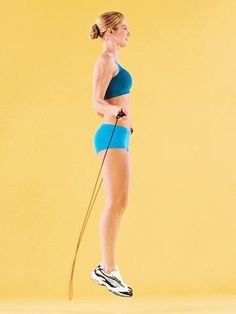 jump rope: 10 minute workout...