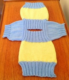 Fish and Chip Babies Knitting Pattern | Balkissock Lodge B&B