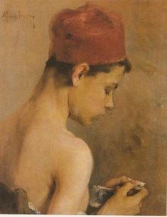 This is a reproduction painting made after the orginal of Lytras Nikolaos . The painting name is Young Man. Classical Period, Classical Art, Hellenistic Period, Young Art, Art Database, Figure Painting, Great Artists, Fine Art America, Art Deco