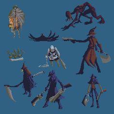Картинки по запросу cg pixel art Painting