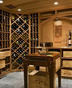 Modern interpretation of the farmhouse in the beautiful Berkshire woods Best Wine Coolers, Wine Auctions, Wine Wall, Wine Wednesday, Gifts For Wine Lovers, Wine Parties, Home Photo, House In The Woods, Home Goods