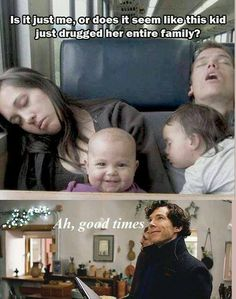 Is it just me, or does it seem like this kid just drugged her entire family? Sherlock: Ah, good times.