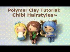 Tutorial: Chibi hairstyles