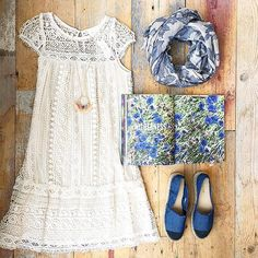 Crochet Tunic Dress #Anthropologie #MyAnthroPhoto