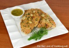 Chicken Paillard with a Lemon Dill Sauce