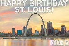 Happy Birthday St. Louis!  The city of St. Louis was founded in 1764 by French fur traders Pierre Laclède and Auguste Chouteau and named after Louis IX of France. The actual date has been disputed by historians almost from the beginning; Feb. 14 or Feb. 15.  #STL #STLOUIS #happybirthday #hbd #stlouisgram