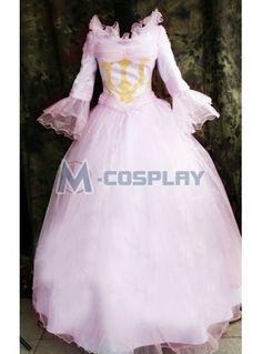 Code Geass Nunnally Cosplay Costume