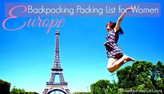 how to stay fit while backpacking europe