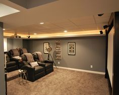 Basement Home Theater Design, Pictures, Remodel, Decor and Ideas - page 7