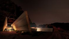 Oppenheim Architecture + Design have released these images of their proposals for 47 desert lodges at a resort in Wadi Rum, Jordan.