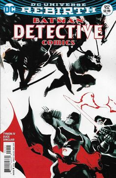 DC Universe Rebirth Batman Detective Comics issue 952 Limited variant