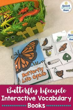 The interactive books are designed to allow students to match pictures to each page of the book using velcro. These books are really great for young children because they allow little hands to be busy matching. They also have a very clear ending.