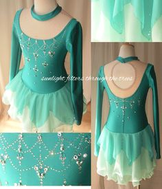 Ice Skating Dress - looks like a fairy's dress!