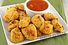 Baked Coconut Chicken with Apricot Sauce