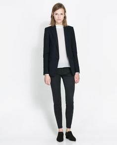 Image 1 of PINSTRIPE BLAZER from Zara