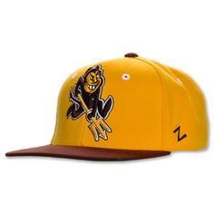 super popular 637a9 78686 Zephyr Arizona State Sun Devils NCAA Snapback Hat - REFSHASU GMR ... Arizona  State