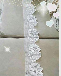 Diy Crafts - Women Vest Cone Pattern New Knitting Design Free Crochet Blanket Border, Crochet Edging Patterns, Crochet Lace Edging, Crochet Leaves, Crochet Borders, Crochet Trim, Crochet Doilies, Easy Crochet, Crochet Stitches
