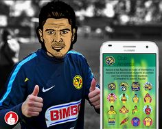 Two thumbs up for Thumbkandi's Club America emoji/sticker collection.     Dos pulgares para arriba para la colección emoji Club América de Thumbkandi.     #ClubAmerica #Futbol #Soccer #Thumbkandi #emojis