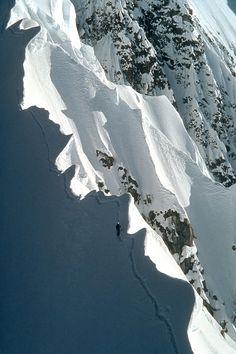 The Snow Ridge in the Lake Louise Backcountry - Alberta, Canada