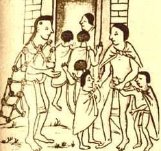 The Aztecs valued education. They invented schools. This image is of some fathers taking their children to school. They obviously valued education and passing along important information to future generations. How else could they have discovered and created so many wonderful inventions?  http://www.clccharter.org/euzine1/aztecwebsite.html