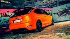 Ford Focus ST with details from RS version!