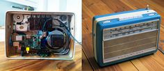 """Imgur user mxmIn23 has taken an old vintage radio, stripped it back, gutted it and retrofitted it with """"Pi Musicbox"""". The results are pretty nice, with an old 50's style look mixed with a healthy dose of the modern world. Pi Musicbox is basically a Raspberry Pi that has been programmed to play internet radio. …"""
