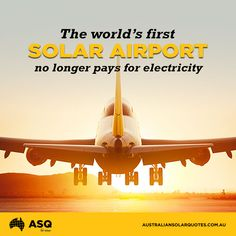 Fed up with their hefty electricity bill, managers at Cochin International Airport in southern India took matters into their own hands | #SolarPower #India http://asq.site/6460f