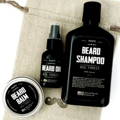 Big Forest Beard Care Kit. Beard Shampoo 8 fl oz & Beard oil 1 fl oz. Promotes Beard Growth, Stops Itching, Keeps Beard Smooth. The beard care set comes in ...